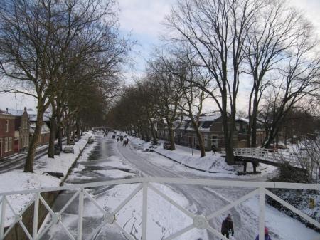 Enkhuizen im Winter