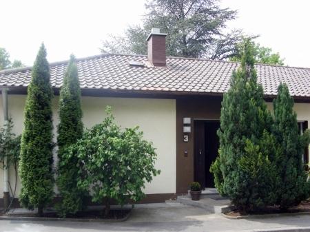 Frontansicht Haus