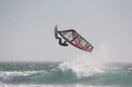 Windsurfen am Sunset Beach